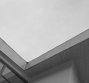 Slot House Contemporary Project Roofline Detail designed by Nigel Buckie from object Architecture - London, UK.